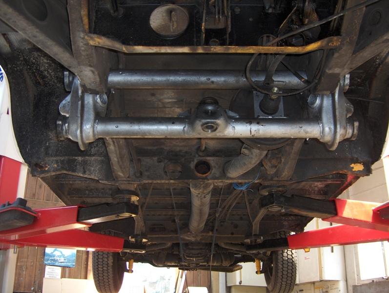VW bus suspension upgrade   Richie's Speed Shop